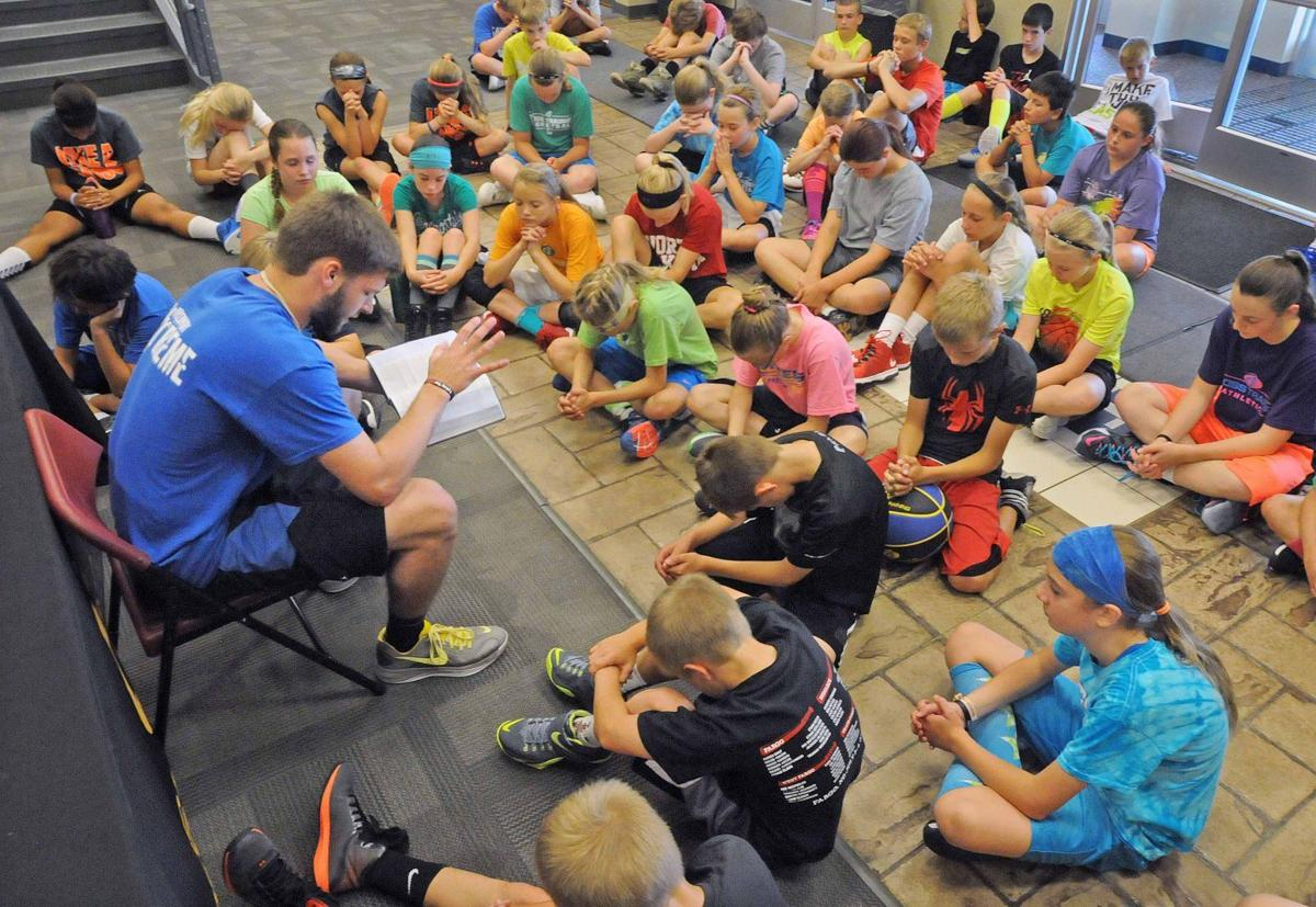 Sports, scripture school kids spiritually in summer camp