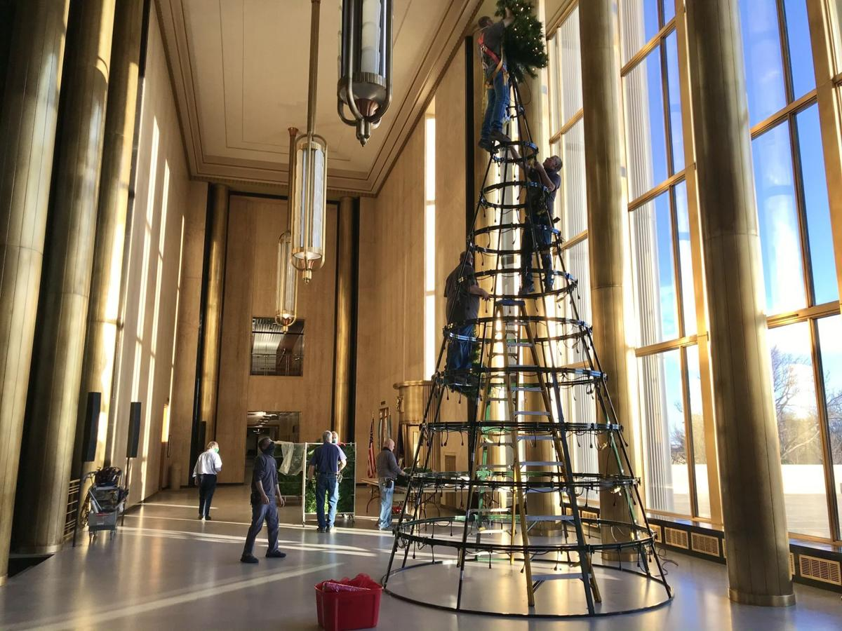 State Christmas tree to light up in virtual ceremony, pandemic-style   Bismarck ...