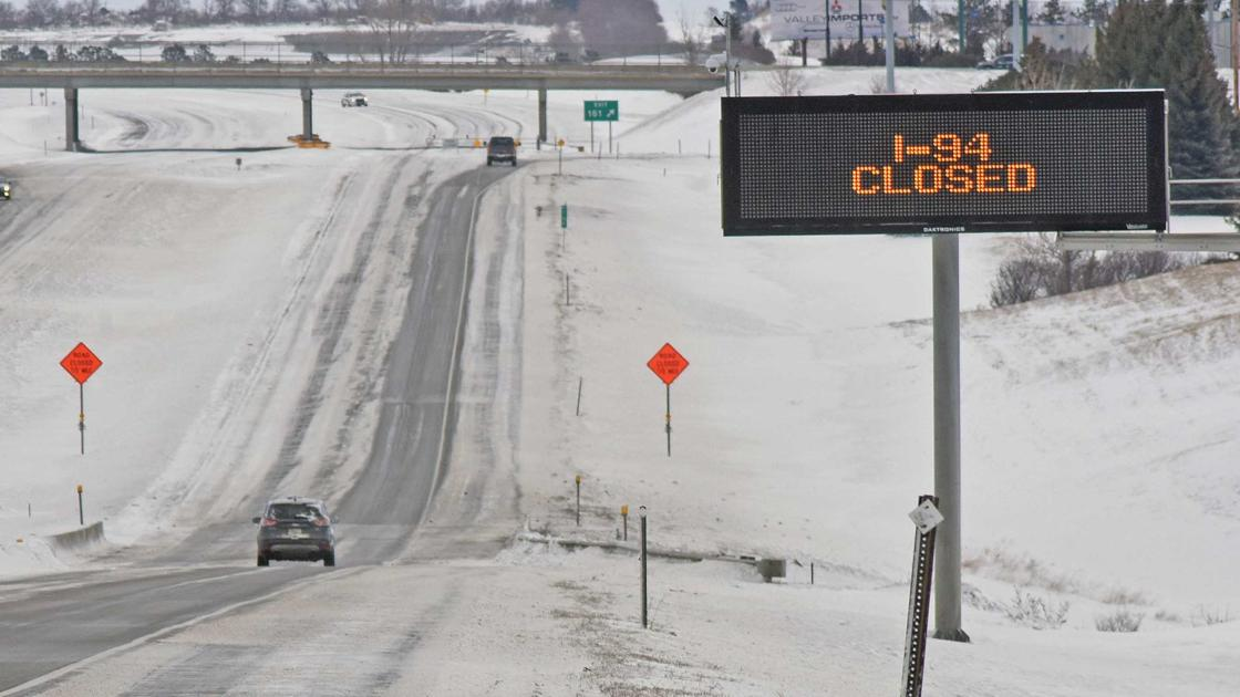 Interstate 94 expected to remain closed overnight | Bismarck