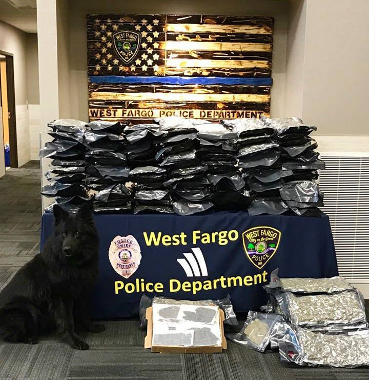 West Fargo police say drug bust is its largest ever
