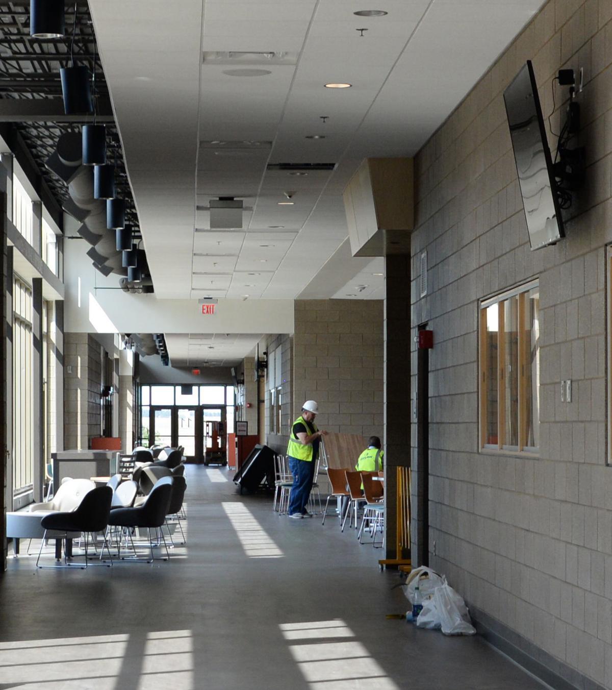 Williston High School-interior