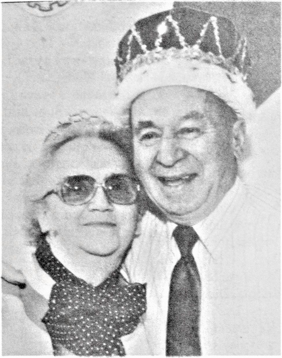1995 Winter Daze Royalty - Bill & Margaret Weigel