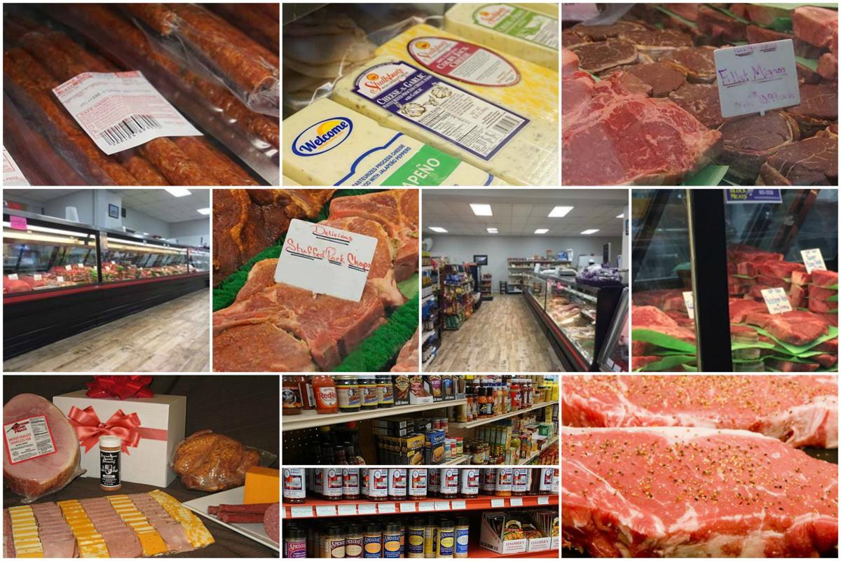 butcher in bismarck and mandan collage