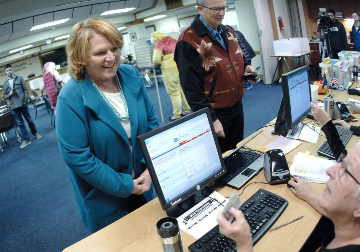 Heitkamp early vote