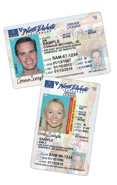 n.d. driver's licenses get new look | north dakota news