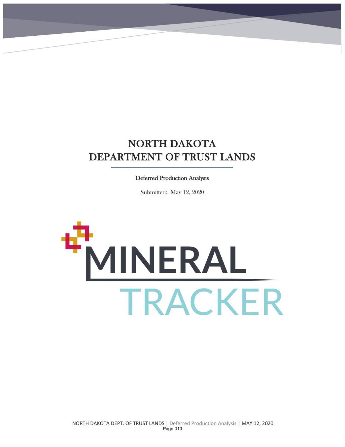 MineralTracker Projections