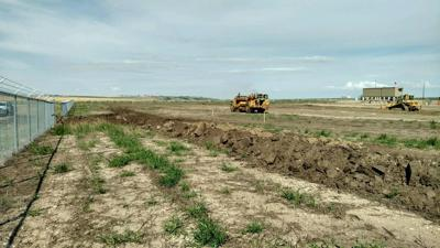 New Town Landfarm construction