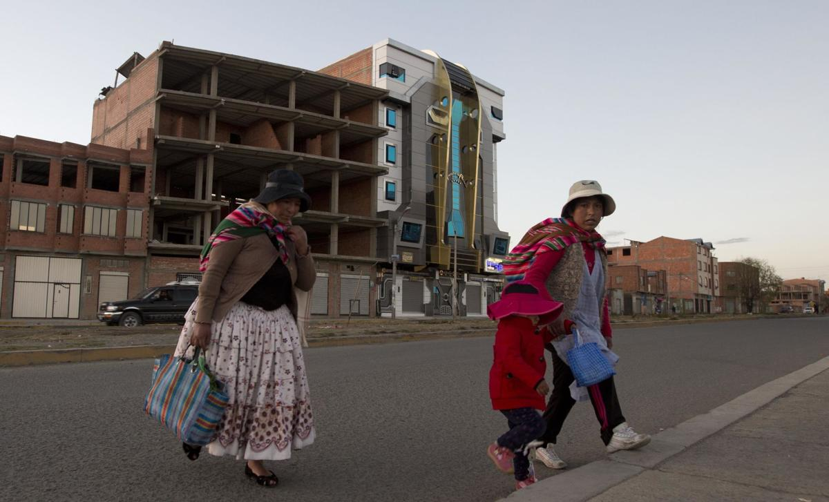 Bolivia Transformers Themed Houses
