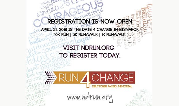 Run4Change Scheduled for Saturday, April 21, 2018