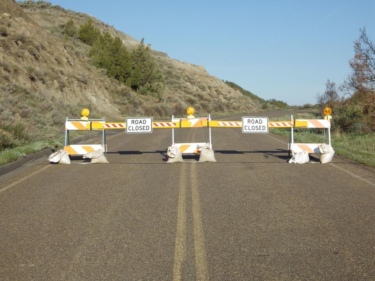 Theodore Roosevelt National Park road closure