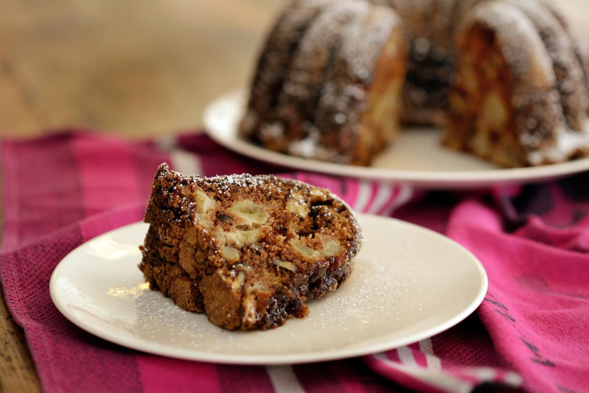 Food American Table Apple Cake