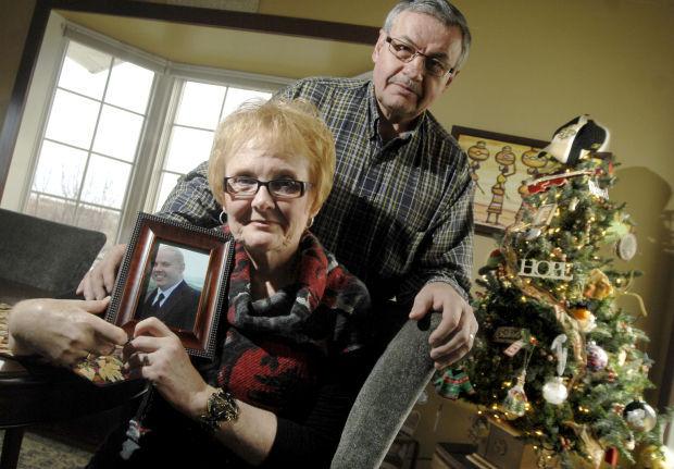 Carol and Dan Landeis with their Joshua Tree