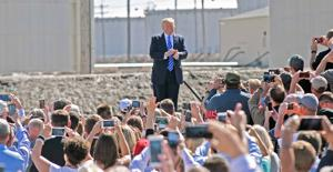 North Dakota crowd cheers Trump's call for tax reform, promise of competitive edge