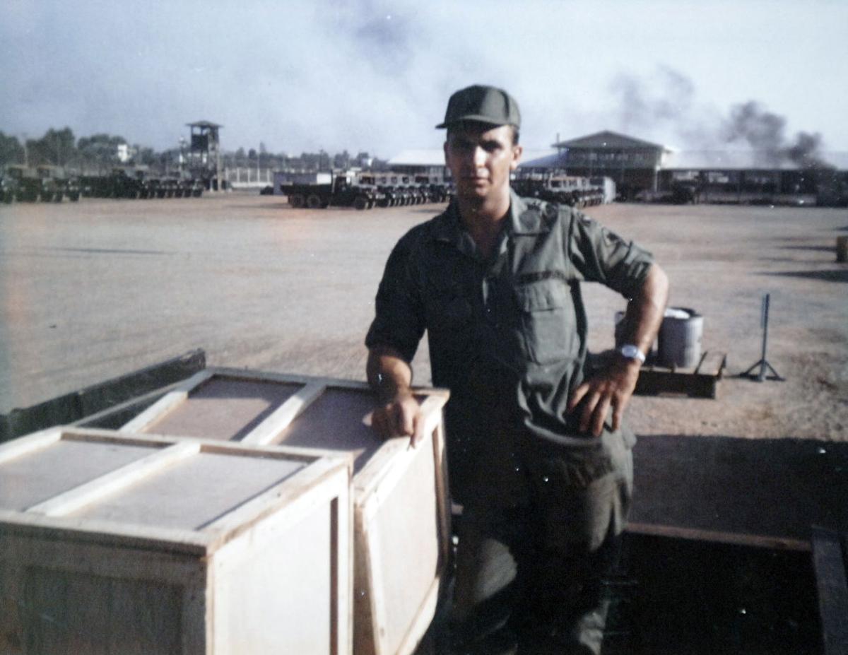 Milt Wagner in Vietnam