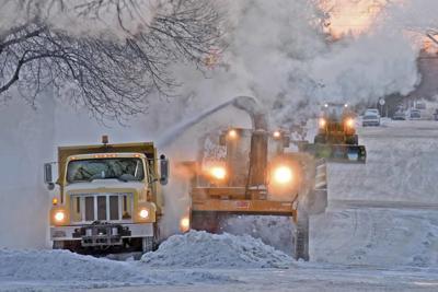 Snow crews