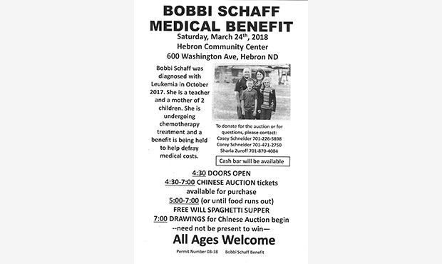 Bobbi Schaff Medical Benefit