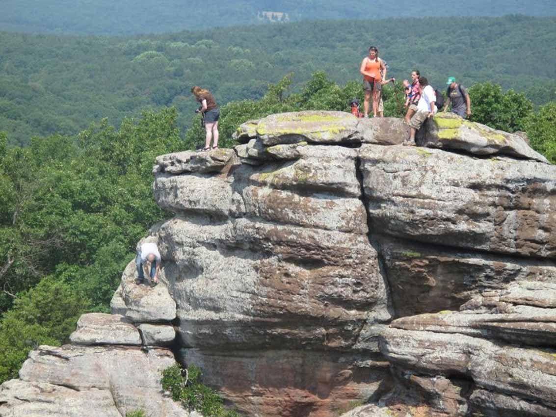 Falling Off A Rock Formation Bismarcktribune Com
