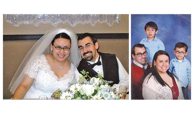 Happy 12th Anniversary to the best husband and father!