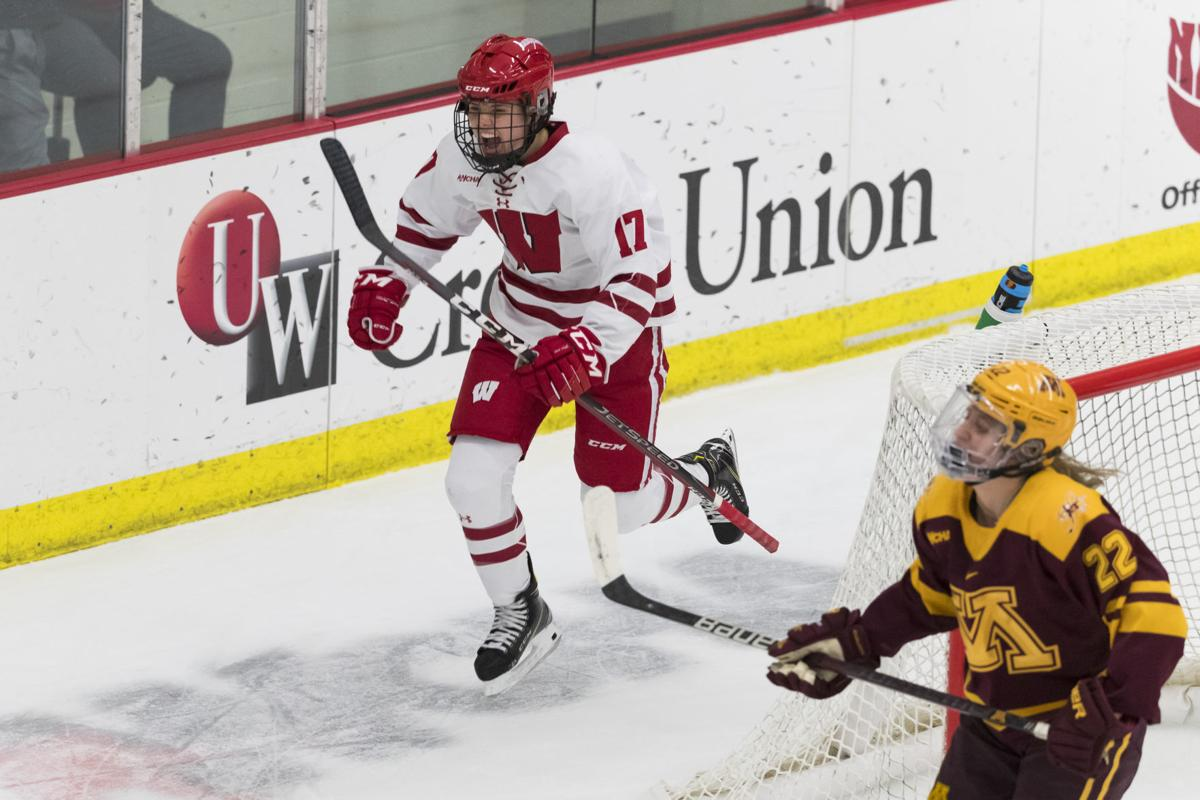 Curl playing key role for No  1-ranked Wisconsin | Hockey