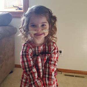 4-year-old Mandan girl in need of double-lung transplant gets donated flight to Houston