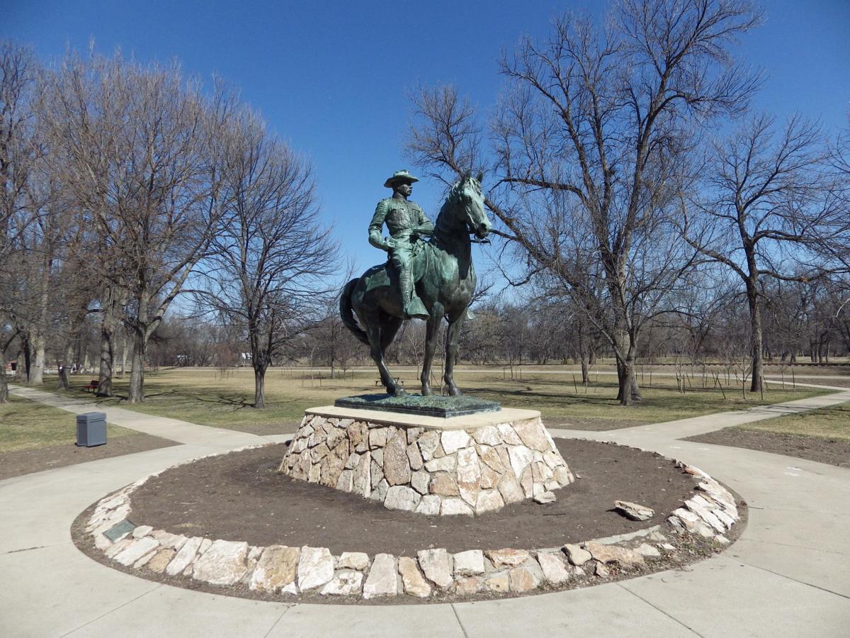 Minot Roosevelt statue