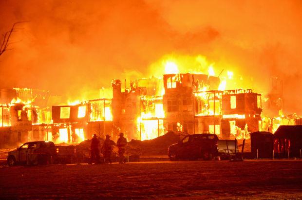 Williston fire