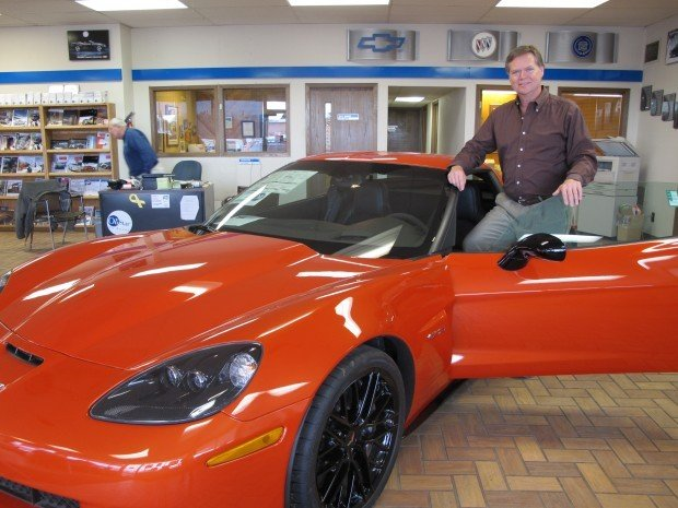 corvette sales accelerating in the oil patch north