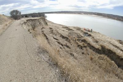 Double Ditch erosion