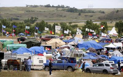 Dakota Access Protest Camp