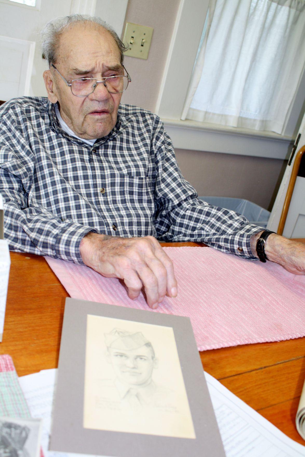 Philip Kurtz with sketch