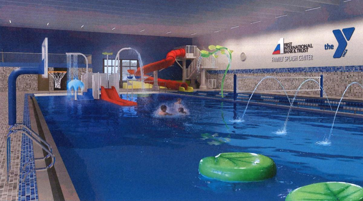 Bismarck ymca dives into pool renovation project bismarck for Ymca with swimming pool near me