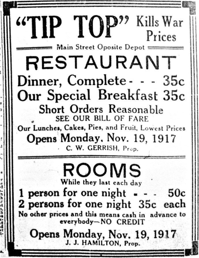 Tip Top Restaurant & Rooms