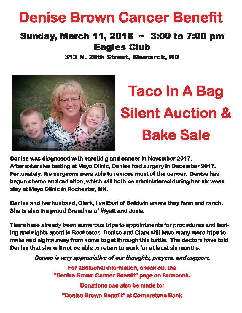 Denise Brown Cancer Benefit