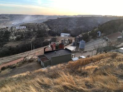Medora wildfire