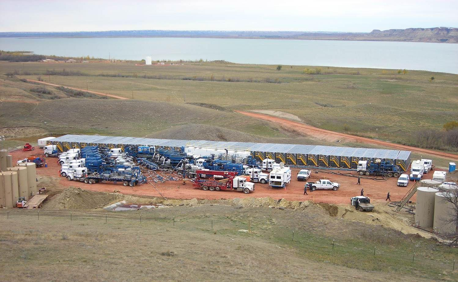 Department of Mineral Resources, PROVIDEDCompanies are refracturing early Bakken wells using today's technology and finding promising results.