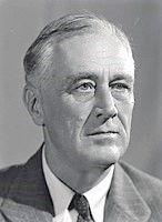 President Franklin D Roosevelt, 1944