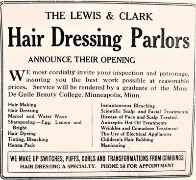 Lewis & Clark Salon, 1920