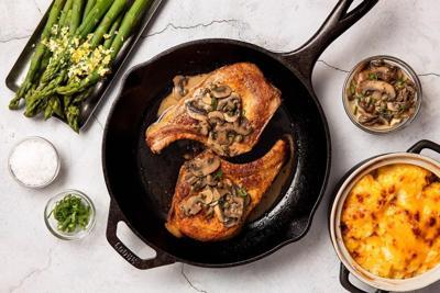 Simple Seared Pork Chops