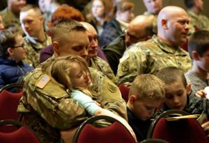 North Dakota National Guard soldiers welcomed home from east coast mission