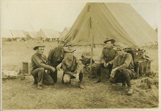 North Dakota National Guard soldiers, circa 1917