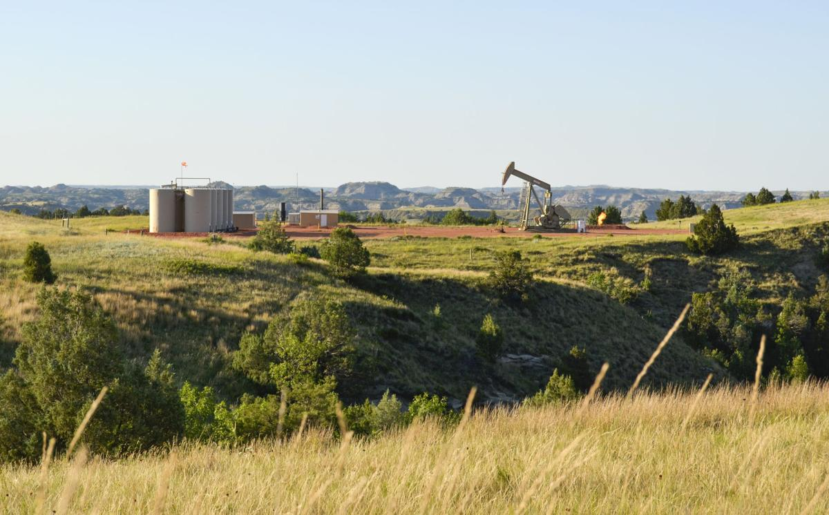 Badlands Oil Well