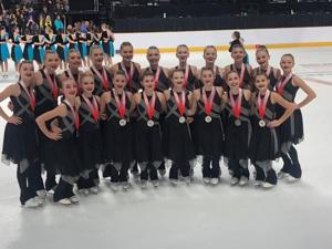 Capital Ice Chips take silver at nationals