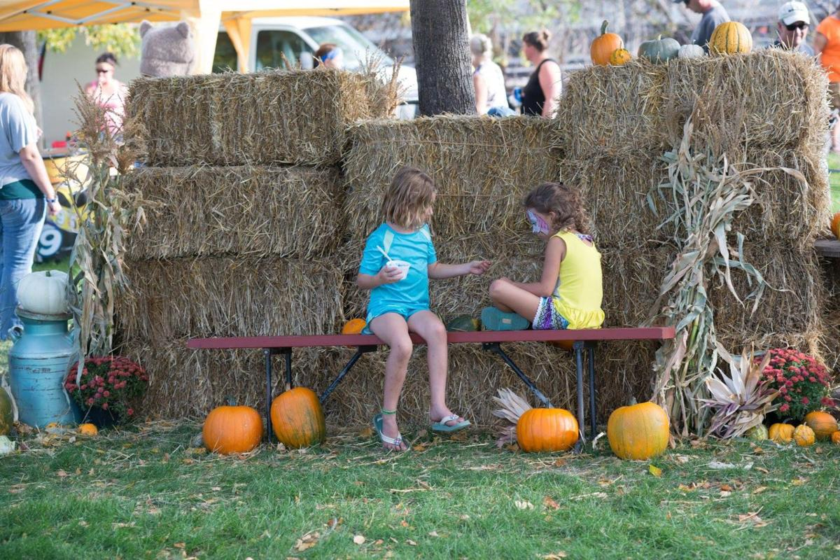 Kids at Oktoberfest