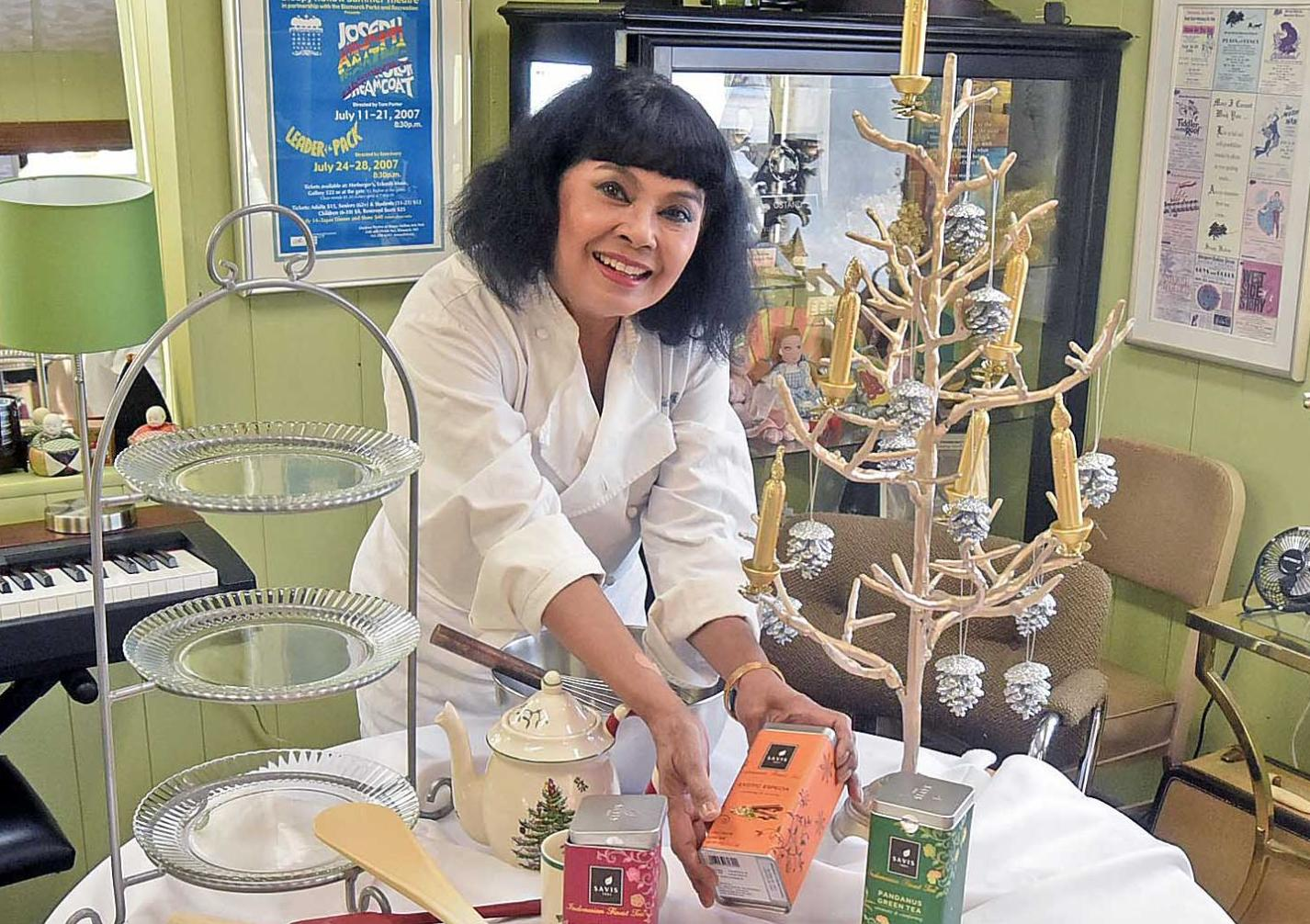 Well-traveled chef to offer delicacies at High Tea event