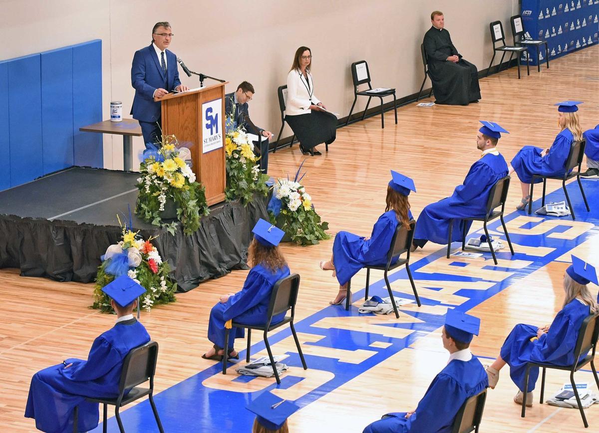 St. Mary's Central High graduation