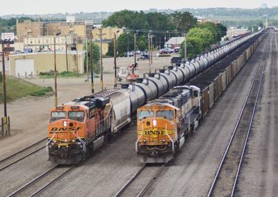 Hauling coal, oil