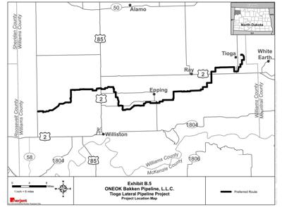 Oneok Tioga Lateral Pipeline Project