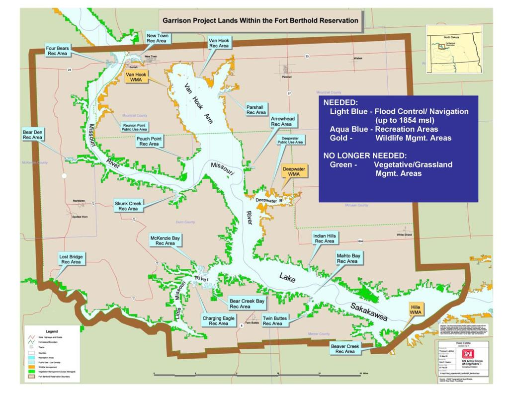 lake sakakawea map bays Tribe To Maintain Public Access To Lake Sakakawea State lake sakakawea map bays