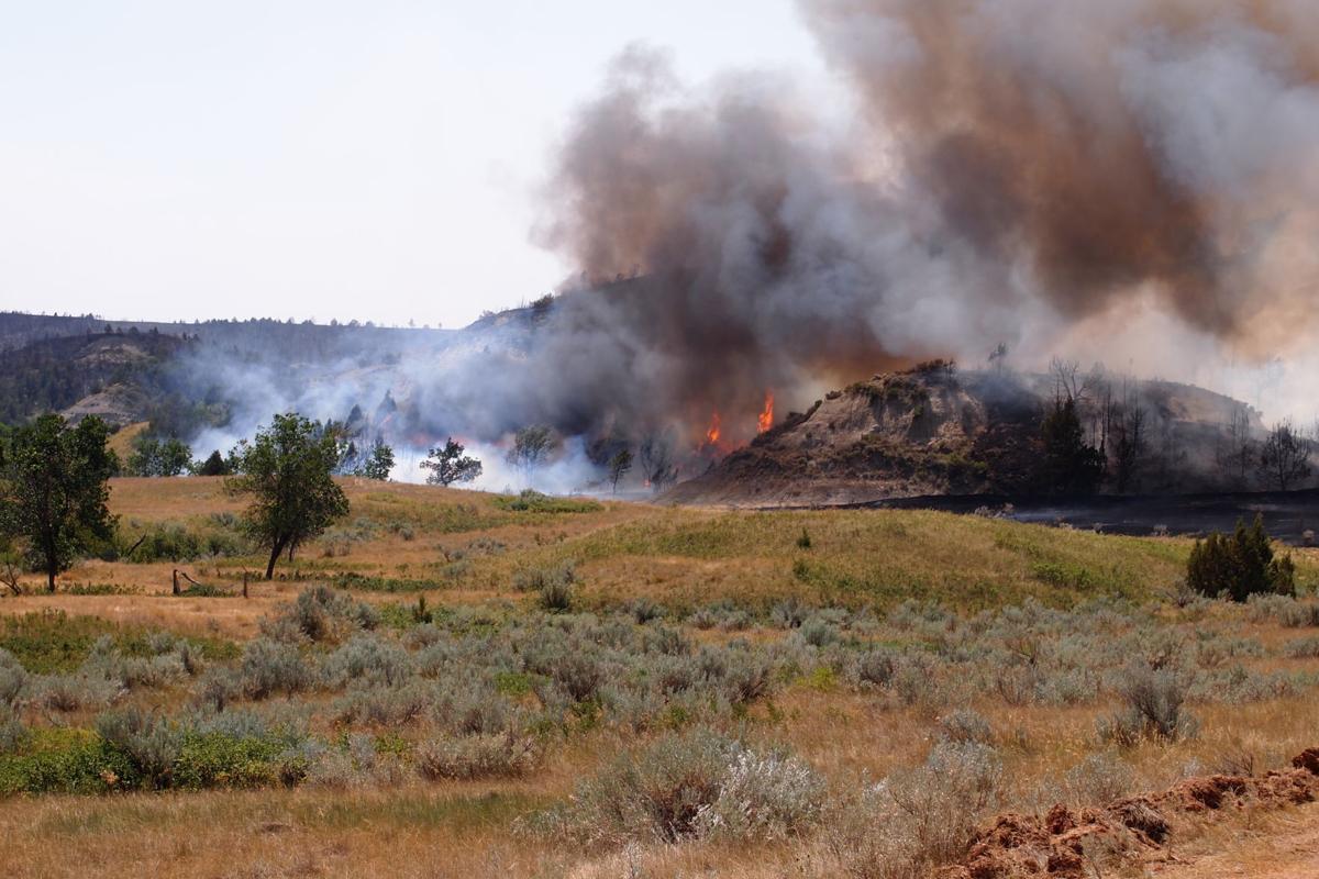 Grassy Butte fire