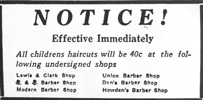 Mandan barbers